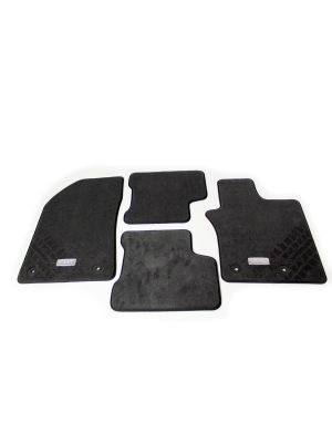Mats - Set of 4 - Carpet - Wheel Tread - RHD