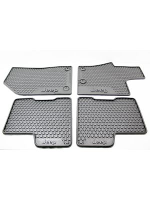 Mats - set of 4 - Rubber - RHD