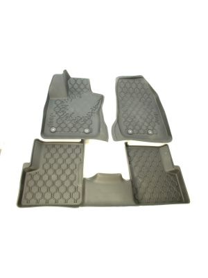 Mats - Set of 4 - Rubber - Slush Type - LHD